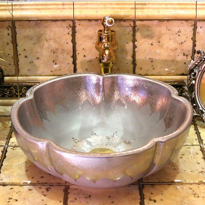popular bathroom porcelain sink buy cheap bathroom. Black Bedroom Furniture Sets. Home Design Ideas