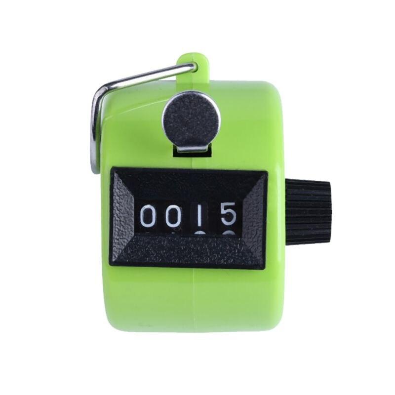 Competent 2017 Nieuwe Collectie Hand Tally Klik Counter Met 4 Digitale Nummer Vinger Display 8 Kleuren 4-digit Tellers Tekorten