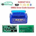Автомобильный диагностический мини-сканер ELM327, Bluetooth, Wi-Fi, ELM 327, V1.5, OBD2 / OBDII