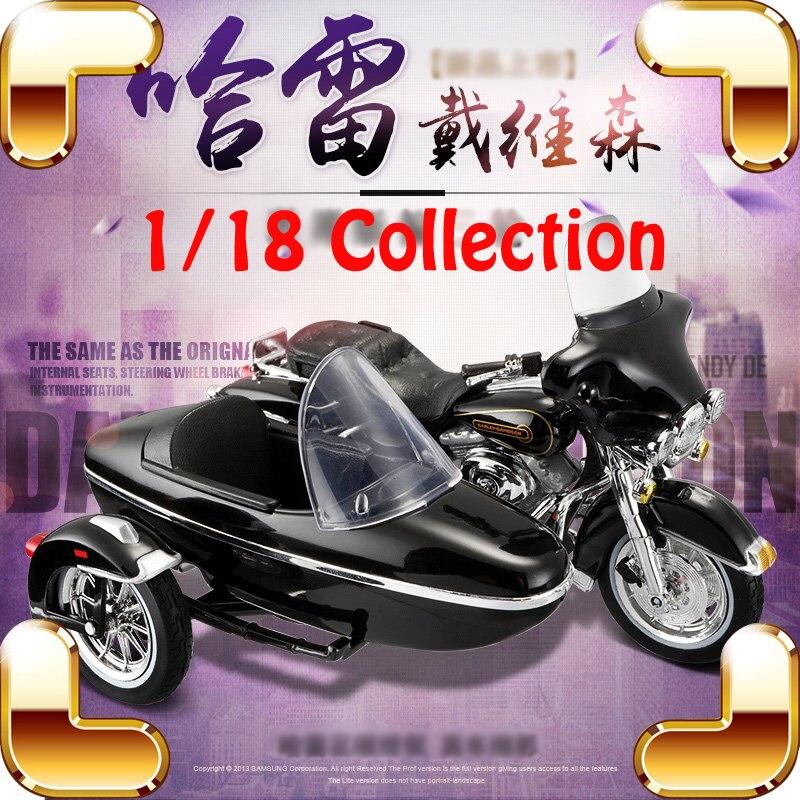 Cadeau de noël HD 1/18 modèle moto métal Collection maison décoration moto présent jouets voiture moteur alliage modèles échelle