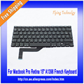"New French Keyboard For Macbook Pro 15"" A1398 Retina 2012 2013"