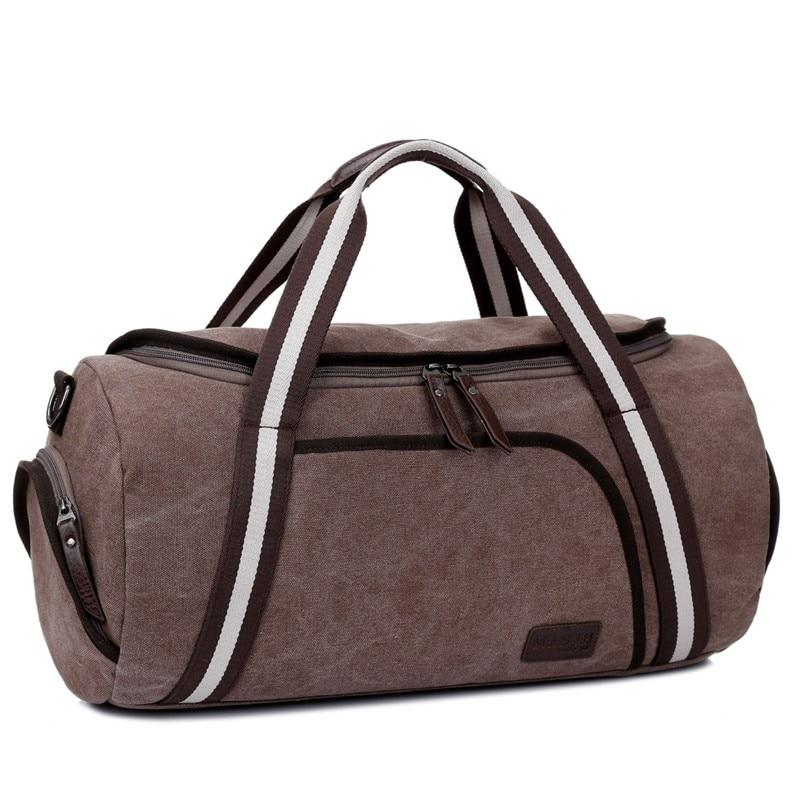 2016 Men Canvas Travel Handbag Bag Large Men Colors Handle Luggage Bags Large Thickening Canvas Bag