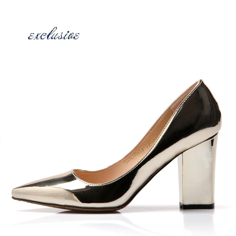Silver Thick Heels Reviews - Online Shopping Silver Thick Heels ...
