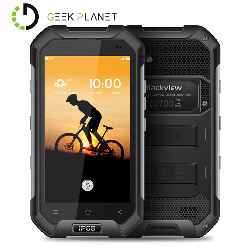 Цена за Оригинал blackview bv6000s mtk6735 1.3 ГГц мобильного телефона quad core 4.7 дюймов 2 ГБ RAM 16 ГБ ROM HD Экран Android 6.0 4 Г LTE смартфон