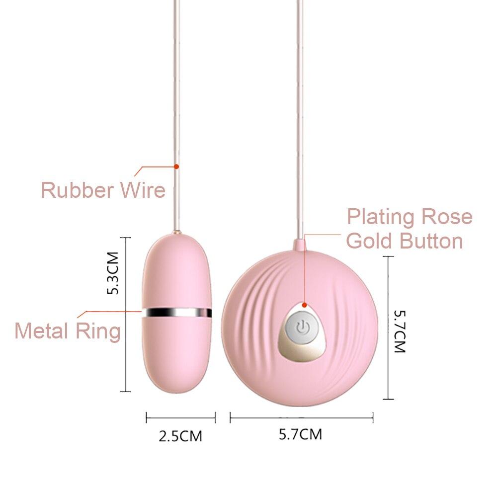 Vibrating Egg Anal Vagina Balls G spot Bullet Vibrator Clitoris Stimulator 1