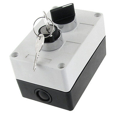 NO Normally Open 2 Position Key Lock Rotary Selector Select Switch Station Box 12mm zinc alloy electronic key switch on off lock switch phone lock security power switch tubular terminals 2 keys 2 position