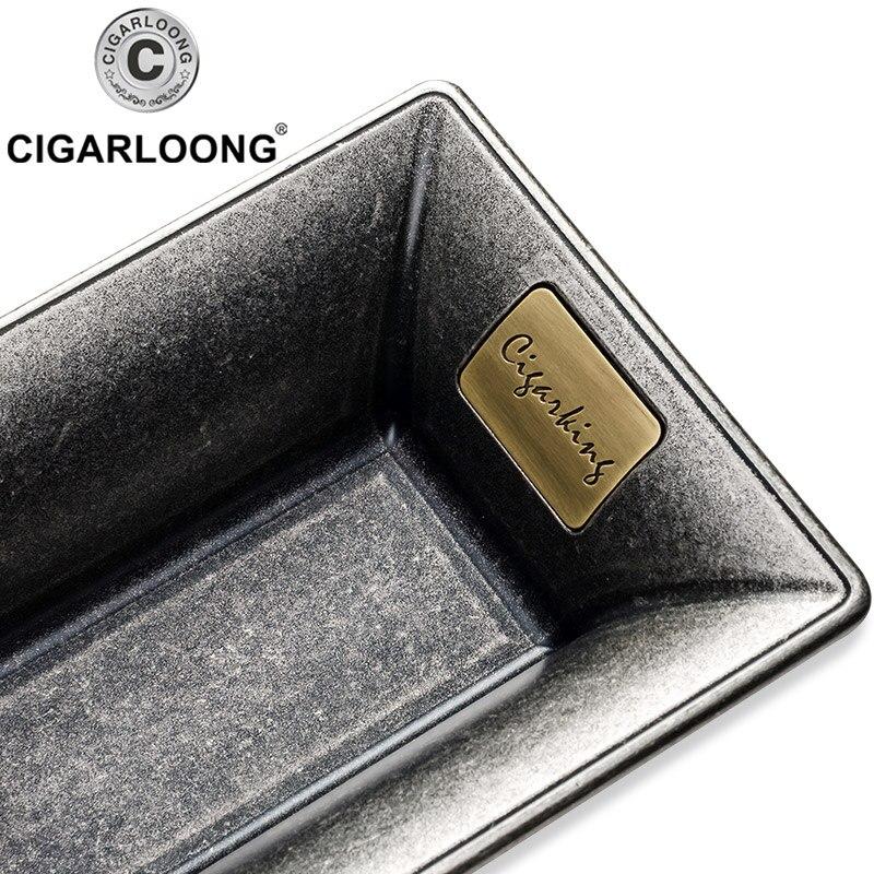 Ashtray Creative Design Metal Cigar Ashtray Luxury Cigar Accessories Cigar Holder