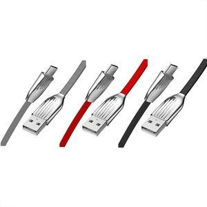 Image 1 - 2.4A/120 ซม. ประเภท   C USB Luminous Fast ใช้ได้กับ Type   c ทั้งหมดอินเทอร์เฟซอุปกรณ์ยืดหยุ่นและทนทาน