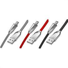 2.4A/120 سنتيمتر نوع C كابل بيانات USB مضيئة كابل شحن سريع تنطبق على كل نوع c واجهة الأجهزة مرنة ودائمة