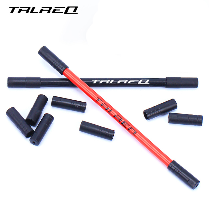 10pcs Plastic MTB Road Bike Brake Cable End Cap Black Shift Cable Bicycle Derailleur Shifter/Brake Cable End Tip Caps