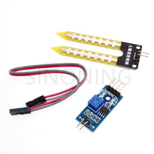 Smart Electronics Soil Moisture Hygrometer Detection Humidity Sensor Module For arduino Development Board DIY Robot Smart Car(China)