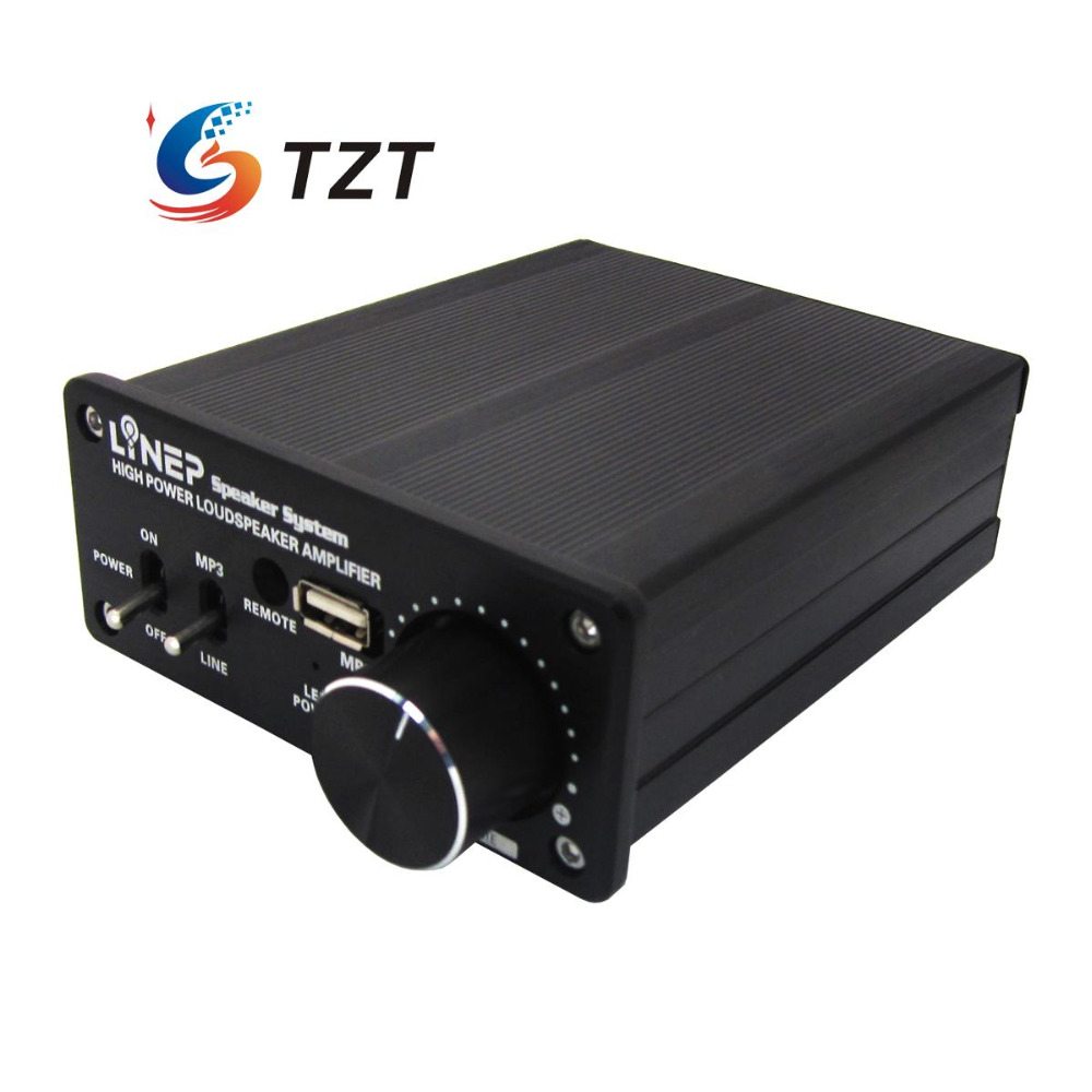320W+MP3 Digital Power Amplifier Audio Loudspeaker AMP for Mobilephone Computer A917 3206 amplifier aluminum rounded chassis preamplifier dac amp case decoder tube amp enclosure box 320 76 250mm