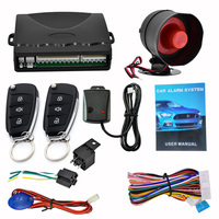 2019 Car Alarm Car Remote Control System Kit Anti theft for Central Door Lock Locking CSL88