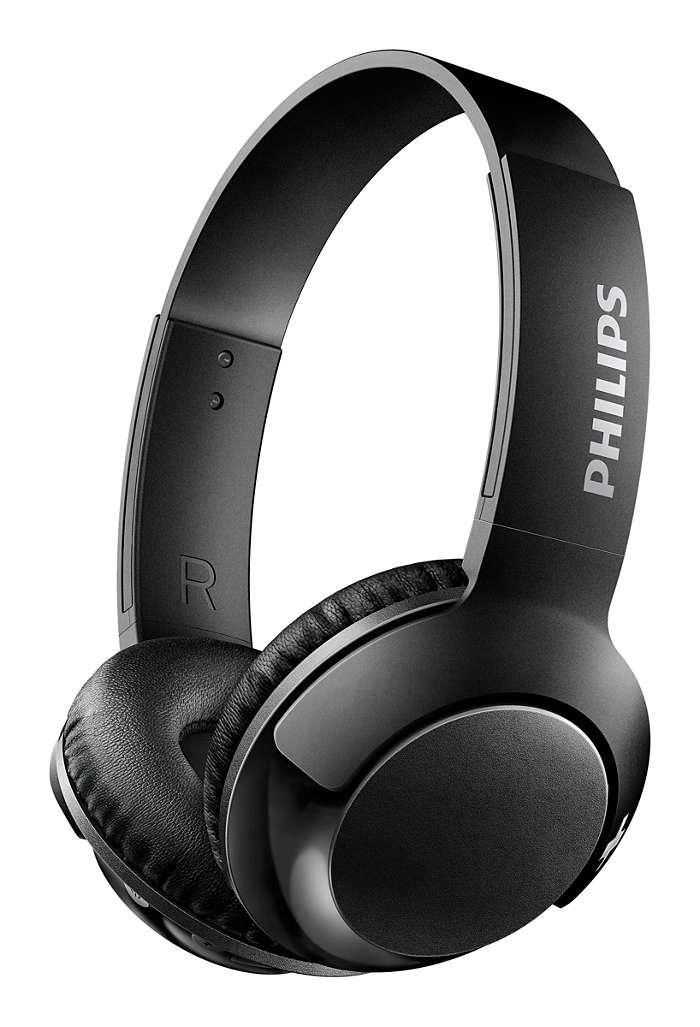 Philips SHB3075 Wireless Bluetooth Headset, Mobile Phone, Computer Game, Music, Sports, Running Earphone