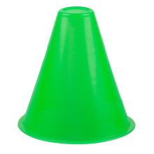 JHO-5 PCS Bright Color Cone Slalom for Slalom Skating Bowling Skating – Light Green