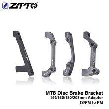 ZTTO disk fren montaj adaptörü MTB Ultralight dirsekli PM A B için PM bisiklet disk fren adaptörü için 140 160 180 203mm rotor