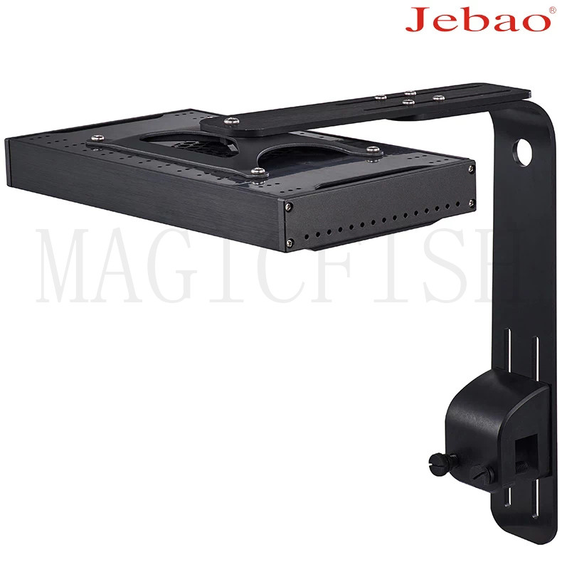 Jebao Jecod AK60 AK80 AL150 Clip-on Style Dense Matrix Aquarium SPS Marine Fish Tank Coral Reef LED Light AK-60 AK-70 AL-150