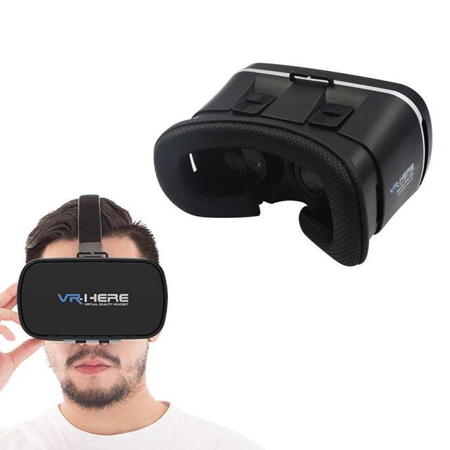 """НОВЫЙ Глава Монтажа Пластиковых VR BOX 2.0 Версия VR Виртуальная Реальность Очки Google Картон 3D Игры Фильм для 3.5 """"-6.0"""" Смартфон"""