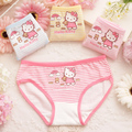 Frete grátis 4 pçs/lote calcinhas meninas cueca crianças cuecas crianças roupa interior de algodão meninas calcinhas cuecas crianças