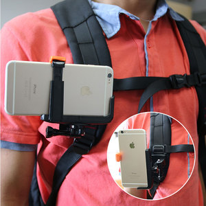 Image 1 - Quick Release Backpack Belt Hat Clip Mount Adapter for Sony AS50 AS300R AZ1 X3000R/Gopro 7 5 /SJcam/Xiaoyi 4k for iPhone huawei