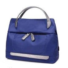 Neu Kommen frauen handtaschen Lila, schwarz, rot, blau Trage mode Große Kapazität Damen umhängetasche Oxford tuch frauen taschen