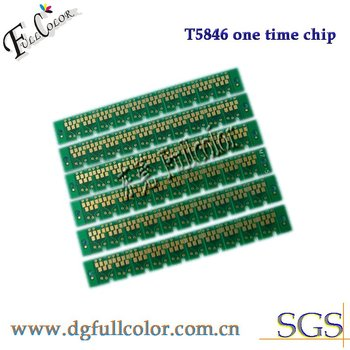 Free shipping  1000piece Compatible  chip T5846 ink cartridge chip for Epson PM200 PM225 PM240 PM260 PM280 PM290 printer