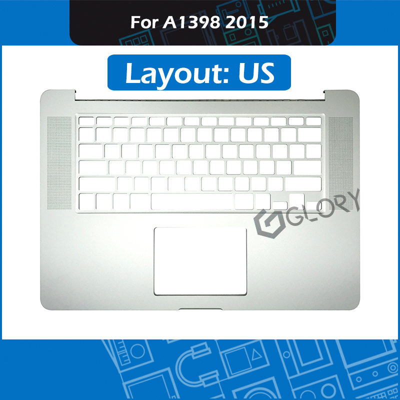 Nuovo Layout US A1398 Top Case per Macbook Pro Retina 15 A1398 Topcase Palmrest di Ricambio 2015 MJLQ2 MJLT2Nuovo Layout US A1398 Top Case per Macbook Pro Retina 15 A1398 Topcase Palmrest di Ricambio 2015 MJLQ2 MJLT2