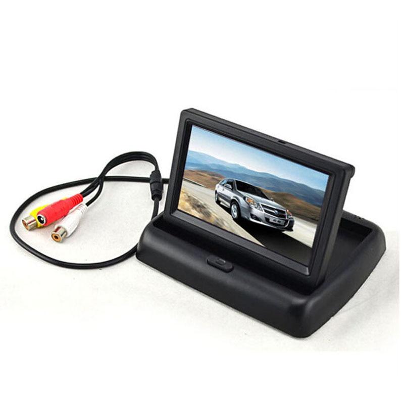 100 New Brand Mini Car DVR Full HD 4 3 TFT LCD Monitor Car Rear View