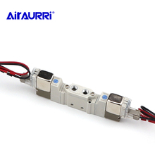 SY3220-5LZD-M5 SY3220-6LZD-M5 SY3220-4LZD-M5 SY3220-3LZD SMC Type 5 port solenoid valve body ported/single unit  pneumatic valve sy7220 5gd 02 quality pneumatic components smc solenoid valve