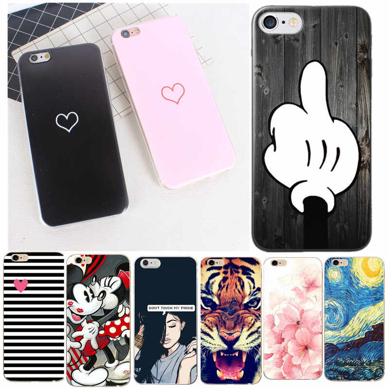 Case For iPhone 6S Case Luxury Silicone Case For Apple iPhone 5S SE 6 7 8 Plus X 10 5 XR XS Max TPU Cover Coque Fundas Capinhas