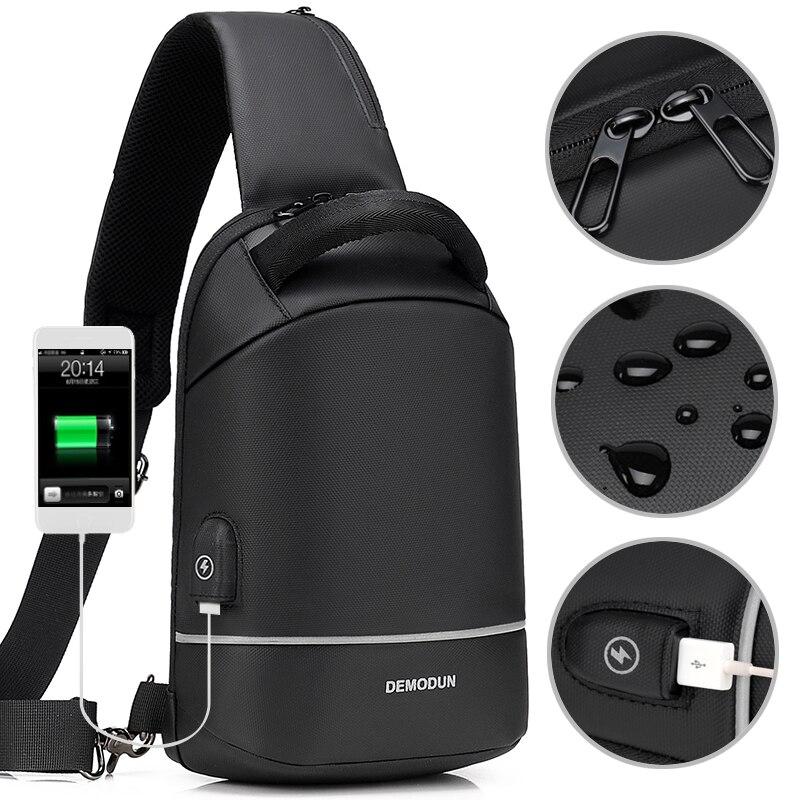 Water Repellent Crossbody Bag 1