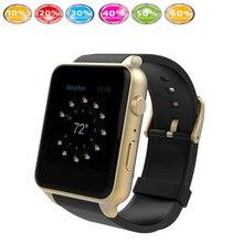 Venta caliente smart watch reloj gt88 ritmo cardíaco fitness salud medida con gsm/gprs tarjeta sim cámara podómetro para los hombres mujer