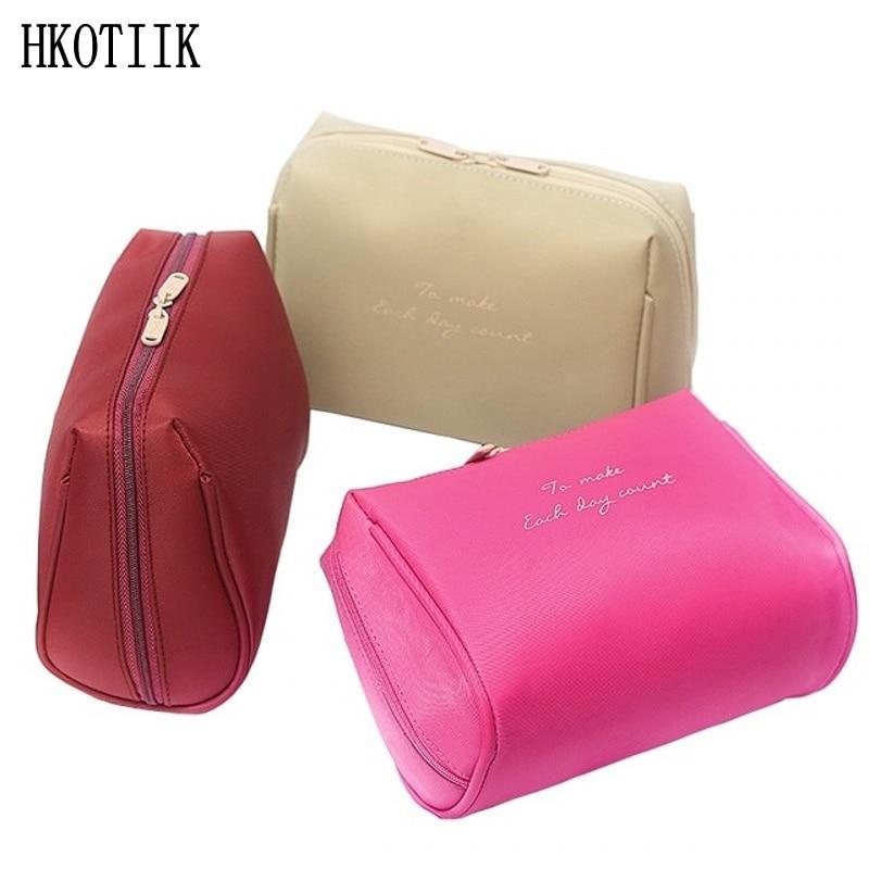HKOTIIKNew Women Men Portable Cosmetic Bag Travel Organization Organization Necessity Cosmetic Bag Toilet Waterproof Bag organization development