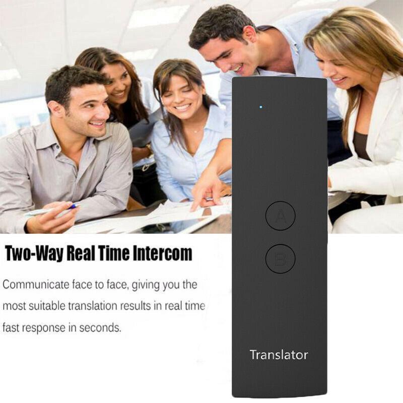 Smart Voice Translator Portable Two-Way Real Time Multi-Language Translation NEWSmart Voice Translator Portable Two-Way Real Time Multi-Language Translation NEW