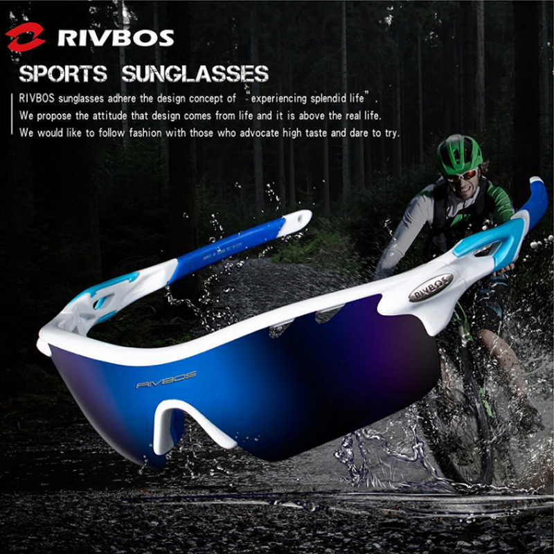 8feccf4427 Free Shipping Men s Women Polarized Sunglasses 5 Interchangeable Lens  Goggles Style UV400 Tactical Glasses Cycling Sunglasses-in Cycling Eyewear  from Sports ...