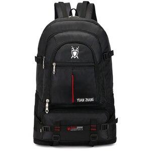 Image 1 - 70L impermeabile unisex degli uomini zaino pacchetto di viaggio sport bag pack Outdoor Arrampicata Alpinismo Escursionismo Campeggio zaino per il maschio
