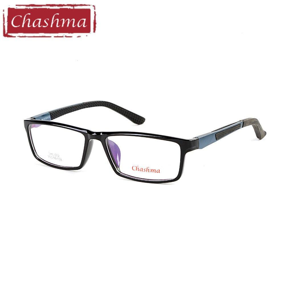 042096235d4 Chashma Brand TR90 Frame Aluminum Magnesium Temple Spring Hinge Fashion  Full Frame Eyeglasses Sport Style Glasses Frames for Men