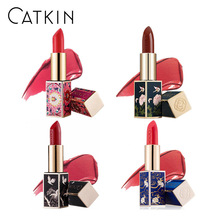 Chinese Style Lipstick Natural Plant Essence Moisturizing Matte Lip Stick Waterproof Long Lasting No Hormone Protect Lip Makeup