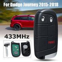 1pcs 3/4/5 Button Smart Remote Car Key 433MHz for Chrysler for Dodge Charger Journey Challenger Durango M3N 40821302 No Mark