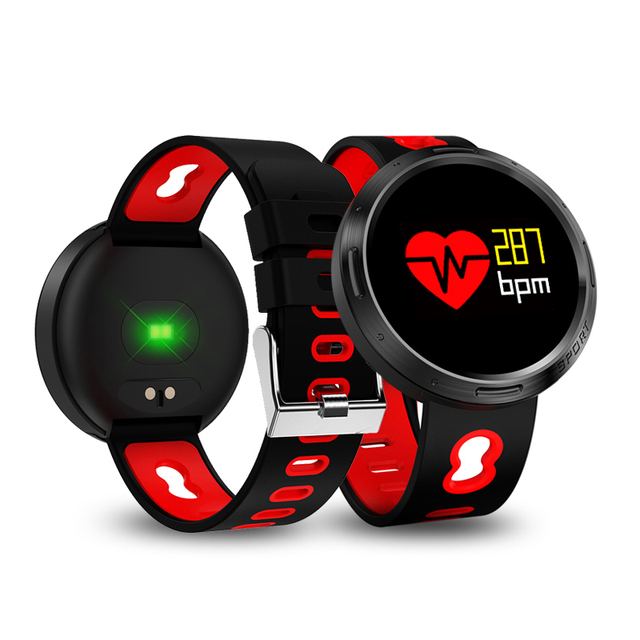 Rundoing X9 VO smart bracelet IP68 Waterproof Heart Rate Blood Pressure Monitor SMS Push smartband Wristband Fitness tracker