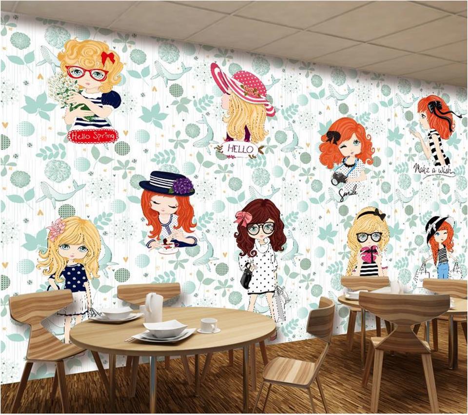 3d wallpaper custom photo wallpaper kids mural living room fashion ...