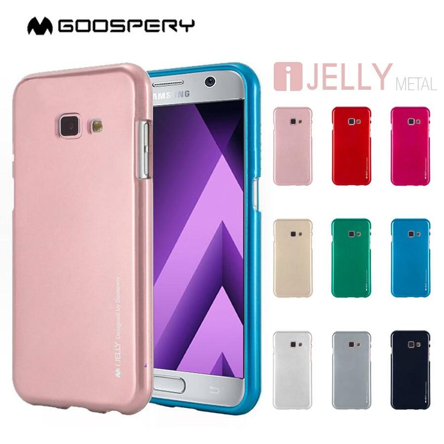 Goospery Pearl Jelly Slim Tpu Bumper Case Cover For Samsung Galaxy Iphone 7 Sky Slide Lime Note 5 C5 C7 C9 Pro Grand Prime J2 J5 J7 Max J3
