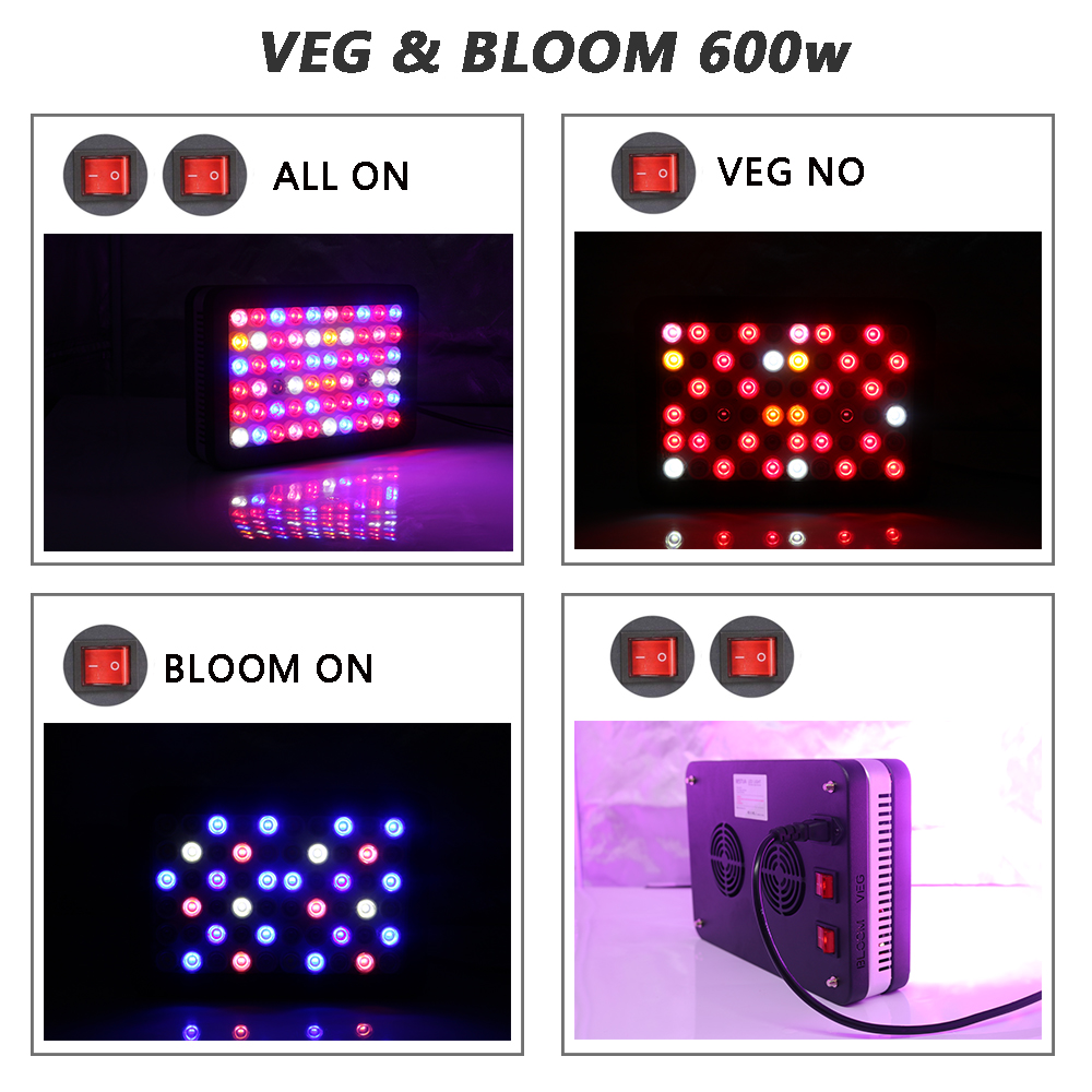 Indoor plants grow lights Full Spectrum 600w 1200w 2000w For greenhouse Hydroponics Seed and flowering Plant Light Grow led 1pc led grow lights e27 15w 3 red 2 blue for flowering plant and hydroponics greenhouse led lamp full spectrum free shipping