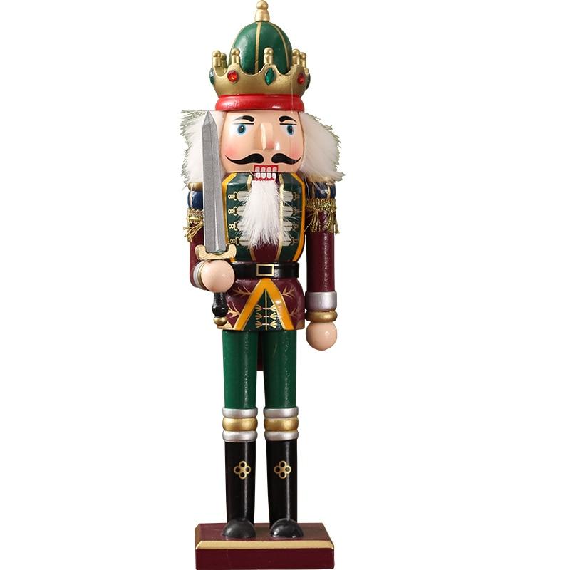 Marionnettes casse-noisette européen affichage créatif armoire à vin meuble TV salon décoration