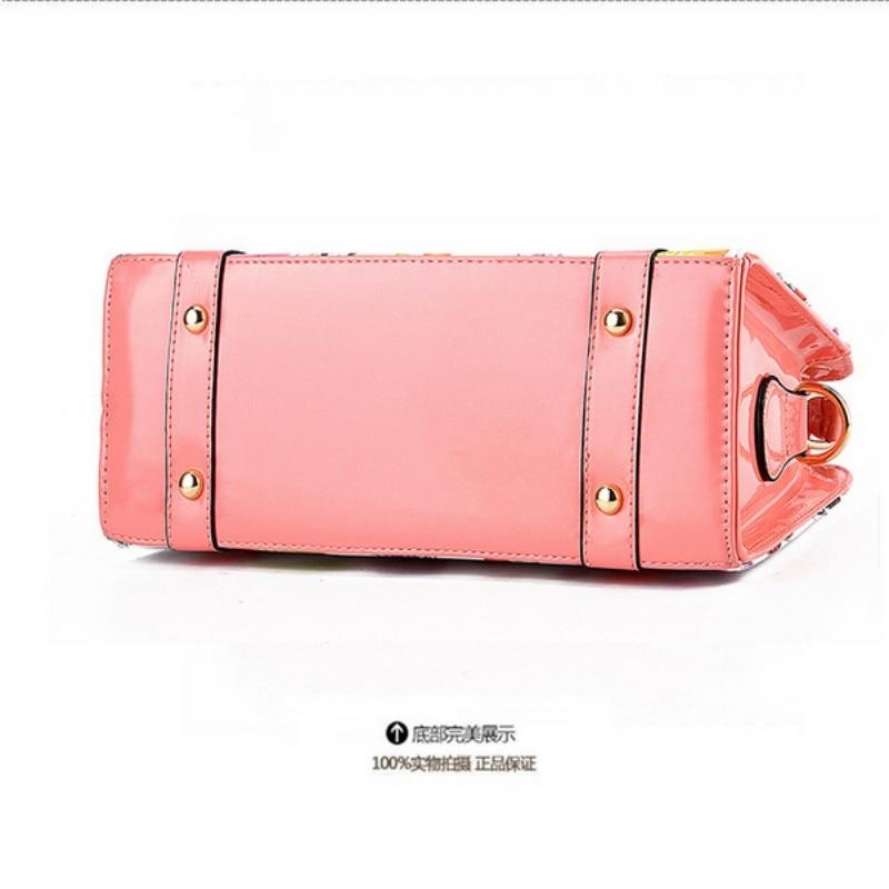 0b69db305f27 Kai 100% Genuine leather Women handbags 2016 New female summer models  beautiful young fashion chain handbag diagram-in Top-Handle Bags from  Luggage   Bags ...