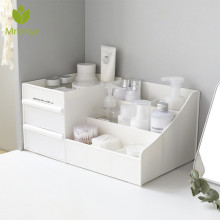 Большая емкость косметический ящик для хранения ящика туалетный столик для макияжа стойка для ухода за кожей Домашний Органайзер контейнер для мобильного телефона