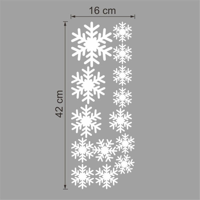 Snow Flakes Wall Sticker