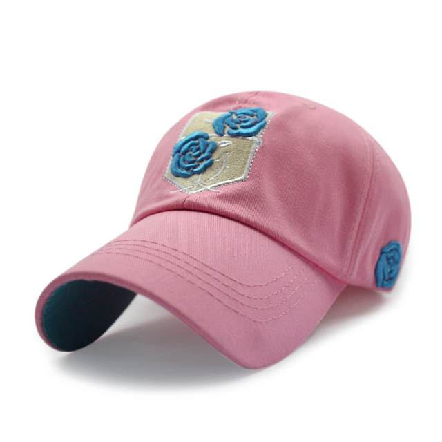 ccddce3c1ac0a7 Pink Fashion Snapback Baseball Caps 2016 Brand Rose Embroidery Women Snapback  Cap Hats Adjustable Casual Men Polo Hat Gorras