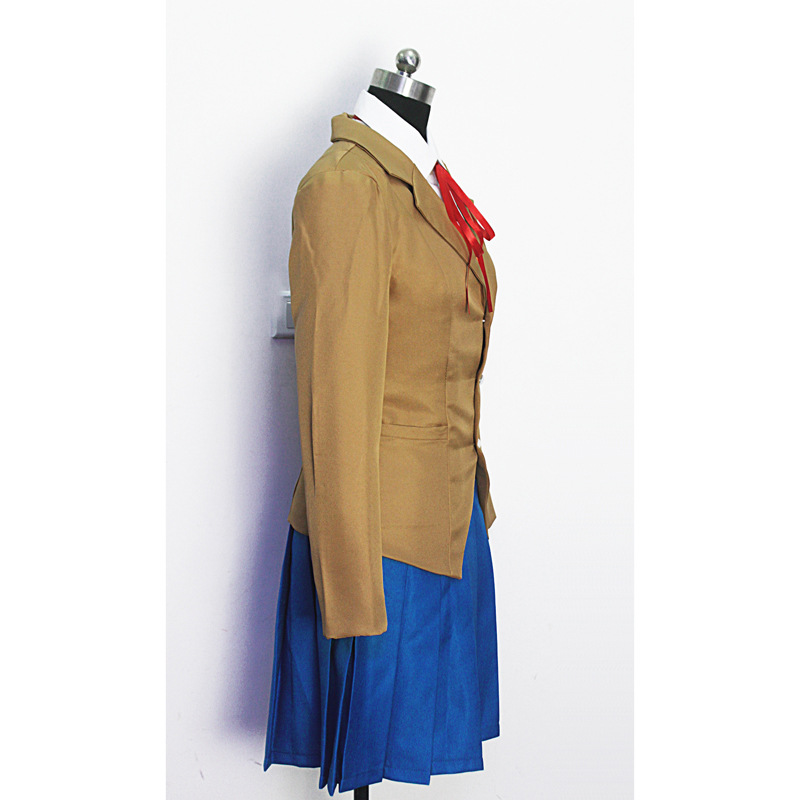Image 4 - Doki Doki Literature Club Monika Sayori Yuri Natsuki Cosplay Costume School Uniform Girl Game Costume-in Anime Costumes from Novelty & Special Use