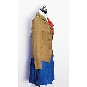 Image 4 - Doki Doki Literature Club Monika Sayori Yuri Natsuki Cosplay Costume School Uniform Girl Game Costume